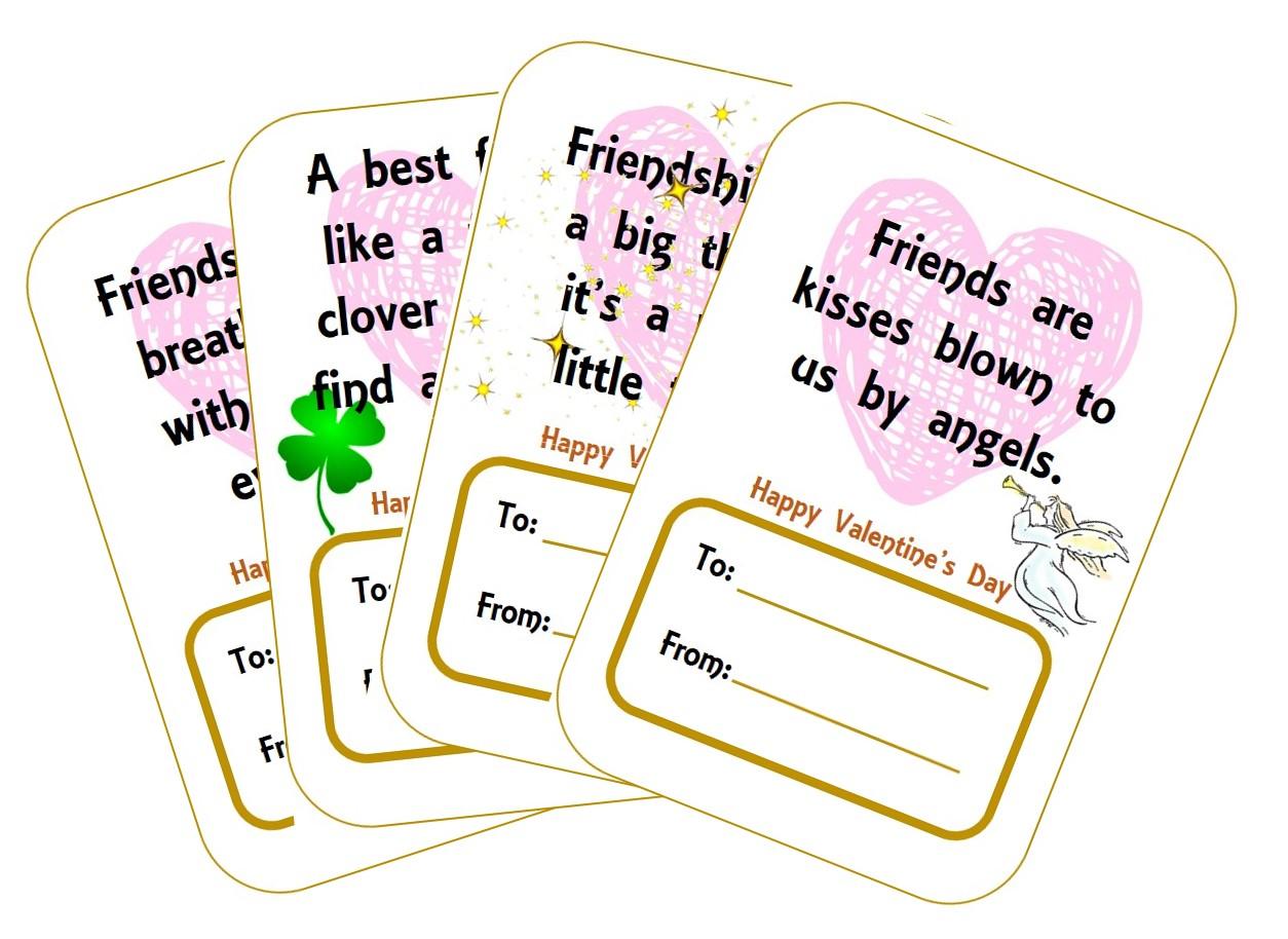 Valentine's Day Ideas - printables