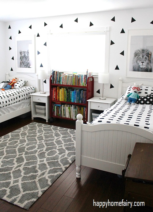 One Color in Shared Bedrooms