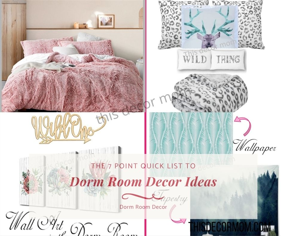 7 Dorm Decor Items That Are Too Cute to Ignore