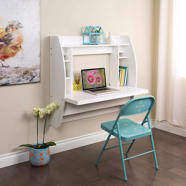 Prepac WEHW-0200-1 Floating Desk with Storage