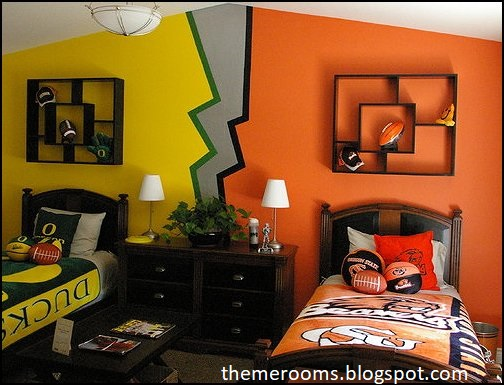 Get creative with your shared bedrooms