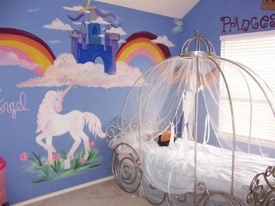 Princess Toddler Bed