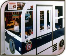 Bedroom Decorating - Bus theme
