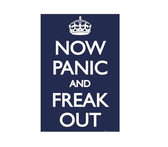 College Posters - Now Panic