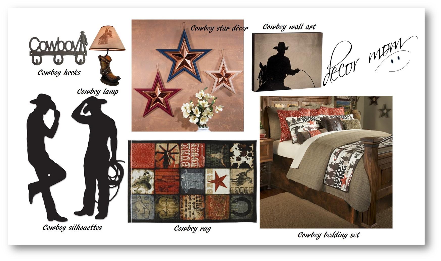 Vision Board 2 - Cowboy Teen Room