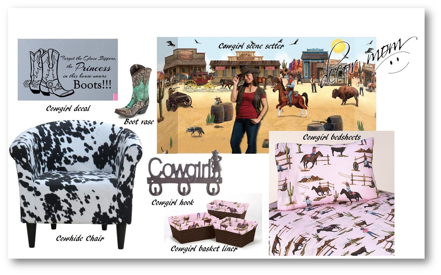 Western Bedding - Cowgirl