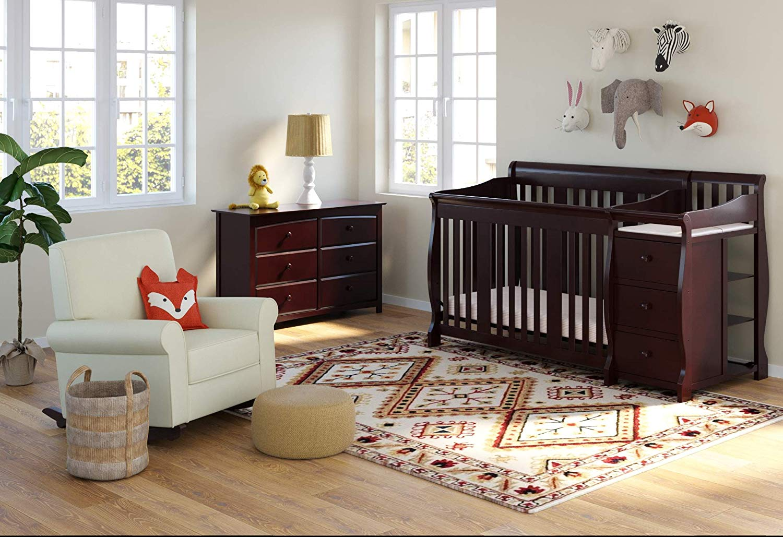 Convertible Baby Crib - Crib Furniture, Canopy Crib, Crib ...