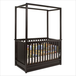 Canopy Baby Cribs - Classic four-poster Canopy Style Baby Cribs
