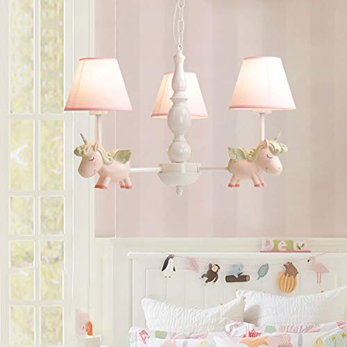 Unicorn chandelier