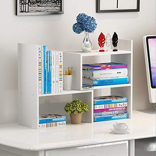 Wood Adjustable Desktop Storage Organizer