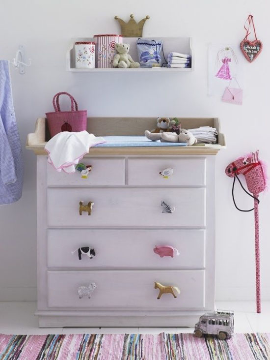 Kids Room Ideas - Dresser Updo