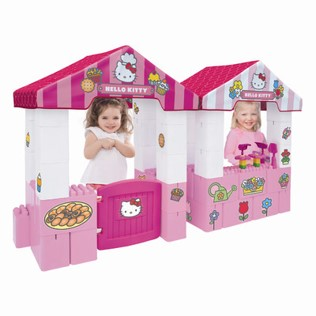 Hello Kitty Bedding - Playhouse