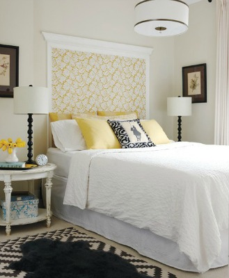 Wallpaper or Wall decal Headboard