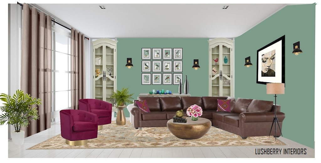 Add rich hues of neutral colors to create a living room worth a second look.