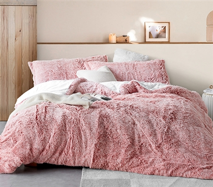 ARE YOU KIDDING - COMA INDUCER® TWIN XL COMFORTER - FROSTED ADOBE BRICK
