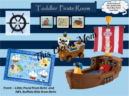 Pirate Theme - Toddler Room