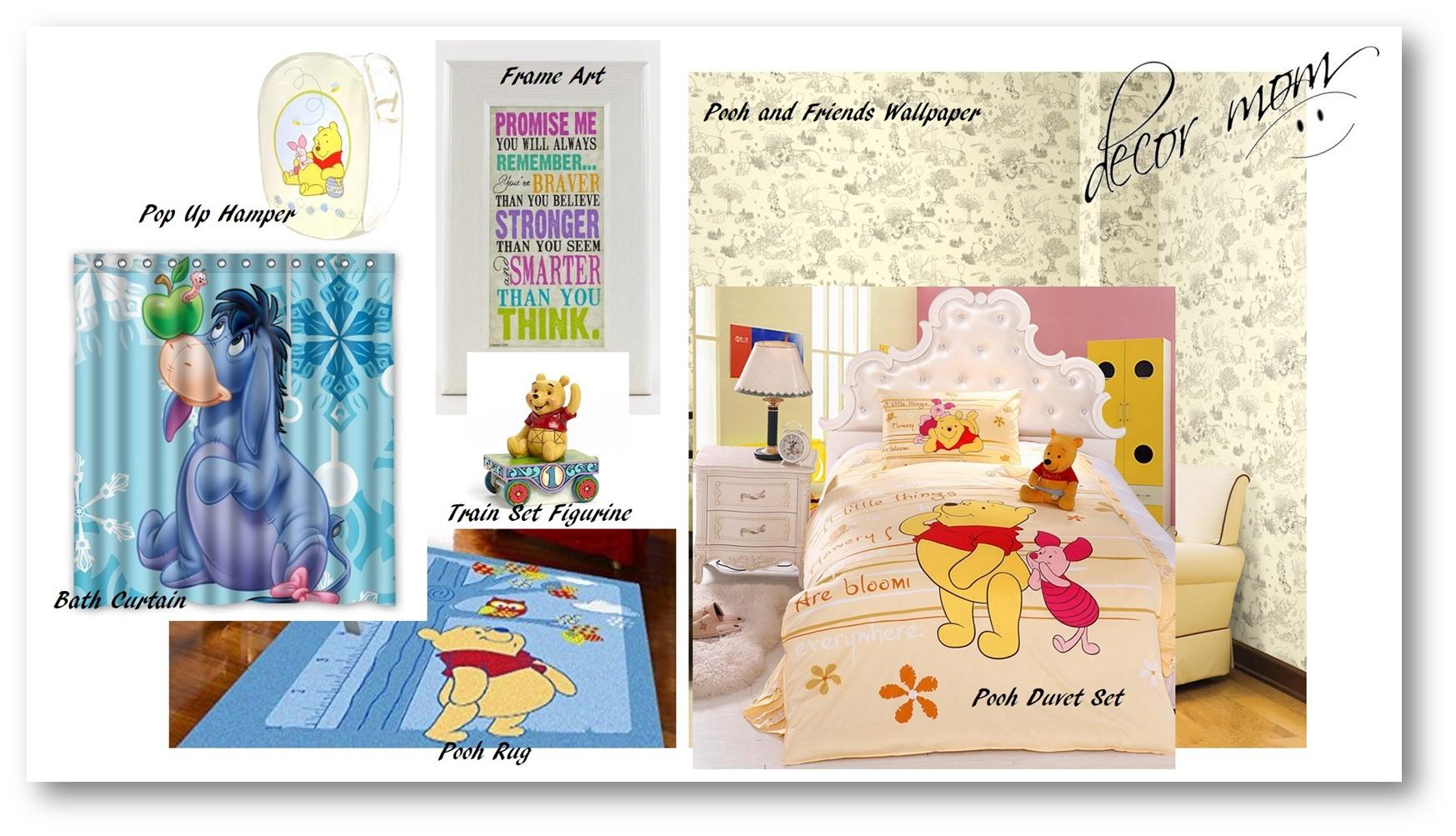 Vision Board 2 - Winnie the Pooh Bedroom