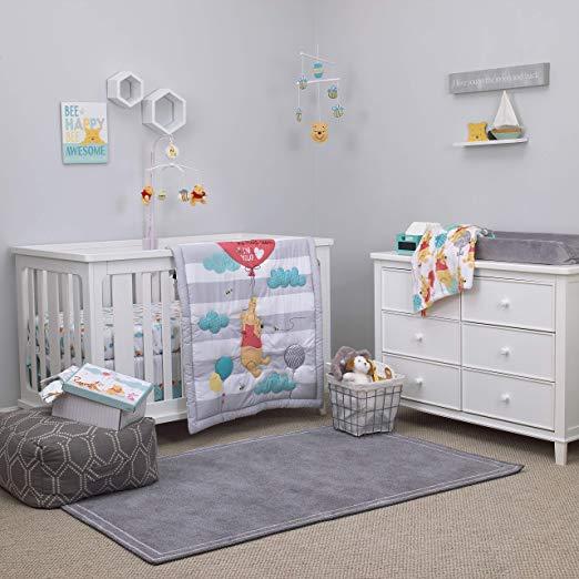 Pooh Crib Bedding