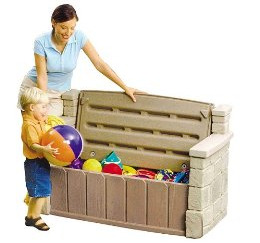 Toy Storage - Outdoor Storage Bench