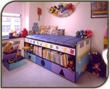 Bedroom Decorating - Bedroom storage