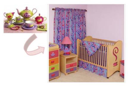 Magical nursery themes girl nursery themes unique nursery designs for girls - Unique girl nursery ideas ...