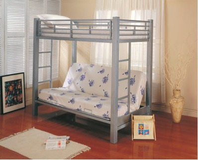 Teen Bedroom Furniture - Futon Bunk Bed