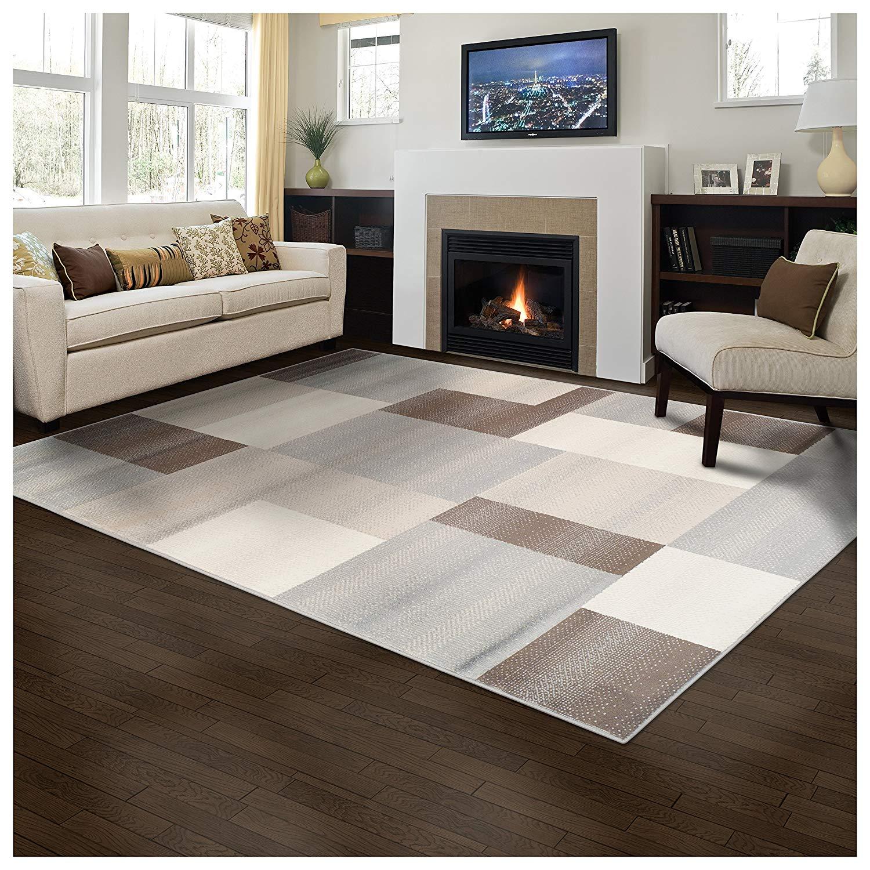 Elegant Clifton Area Rug Geometric Rectangular Tile
