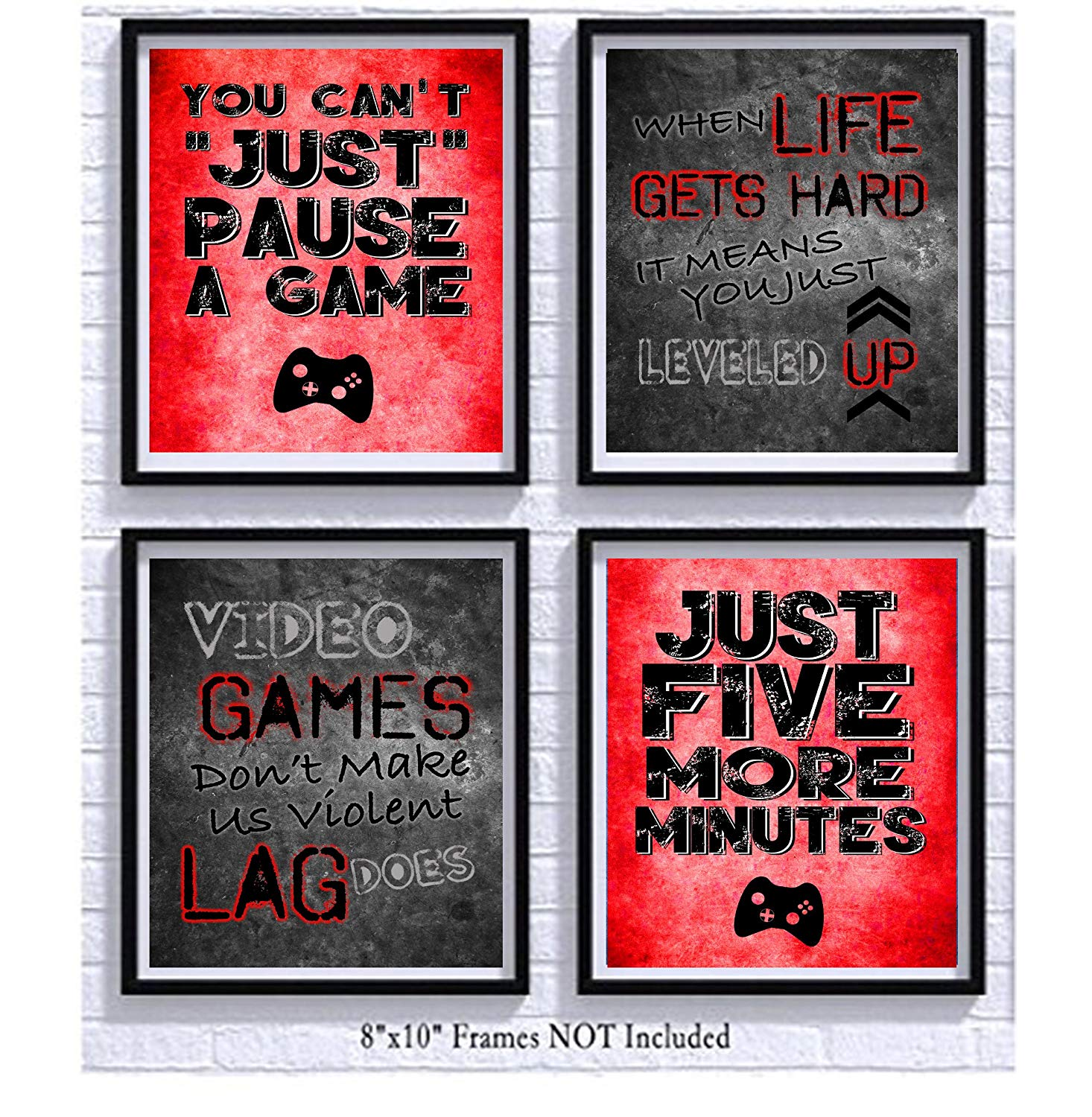 Video Game Themed Art Print