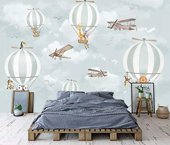 Hot Air Balloon Animals Wallpaper