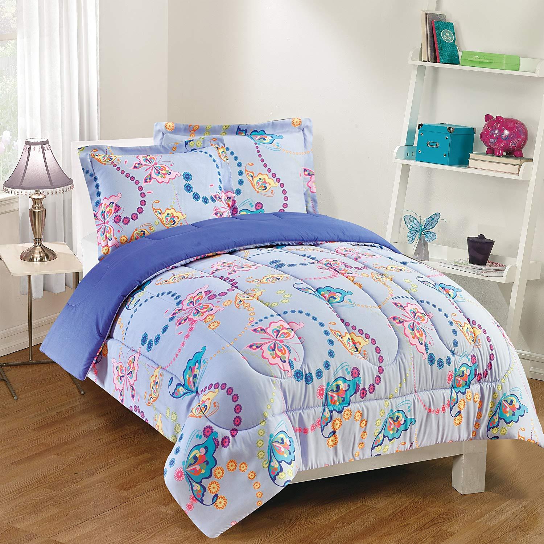 Gizmo Kids Comforter Set, Twin, Lavender