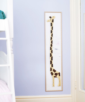 Childrens Room Decor - Growth Chart