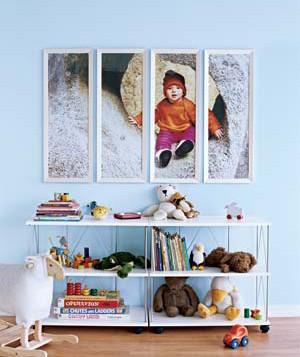 Childrens Room Decor - Photo Frames