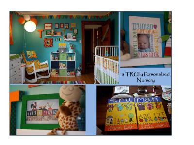 a TRUly personalized nursery