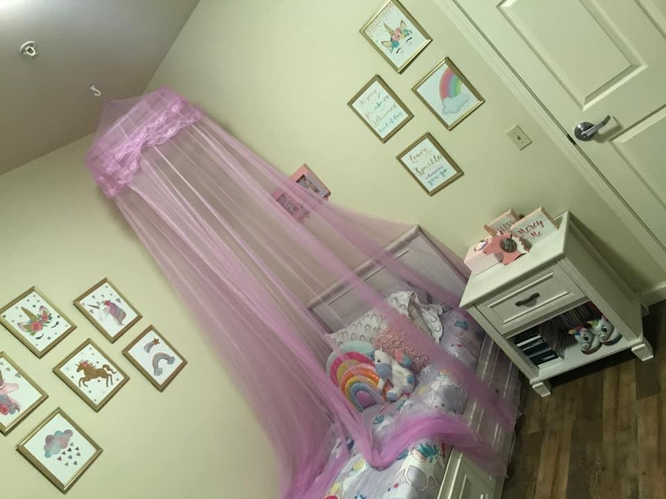 unicorn themed bedroom