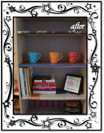 DIY Bookcase - After the Decorating
