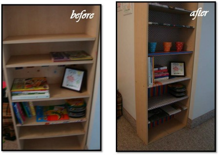 DIY Bookcase - From Boring to Awesome