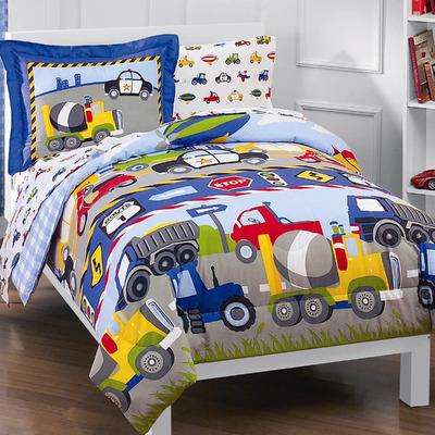 Kids Comforters - Trains and Trucks