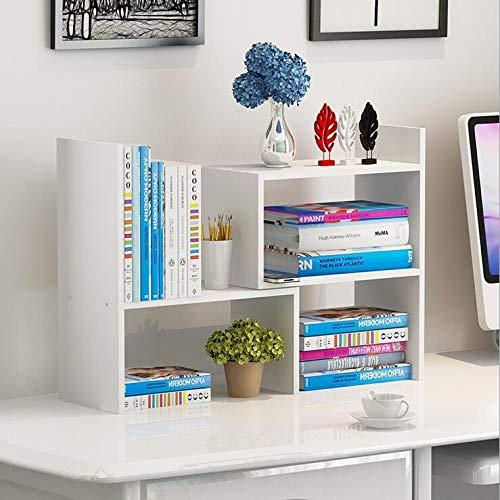 Wood Adjustable Desktop Storage Organizer