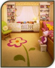 Bedroom Decorating - Garden theme