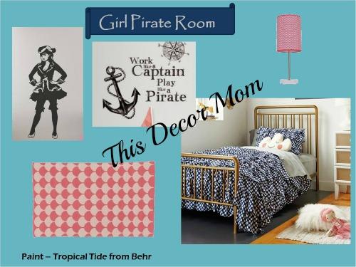 Pirate Theme - Girl Pirate