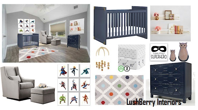 Super-hero Boy Nursery