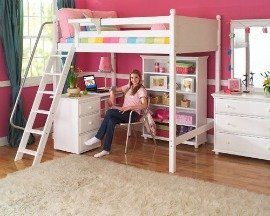 Teen Bedroom Furniture - Loft Bed