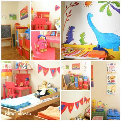 Dinosour kids room