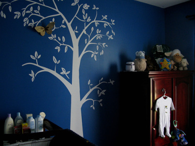 Zanon's Cool Blue Nursery